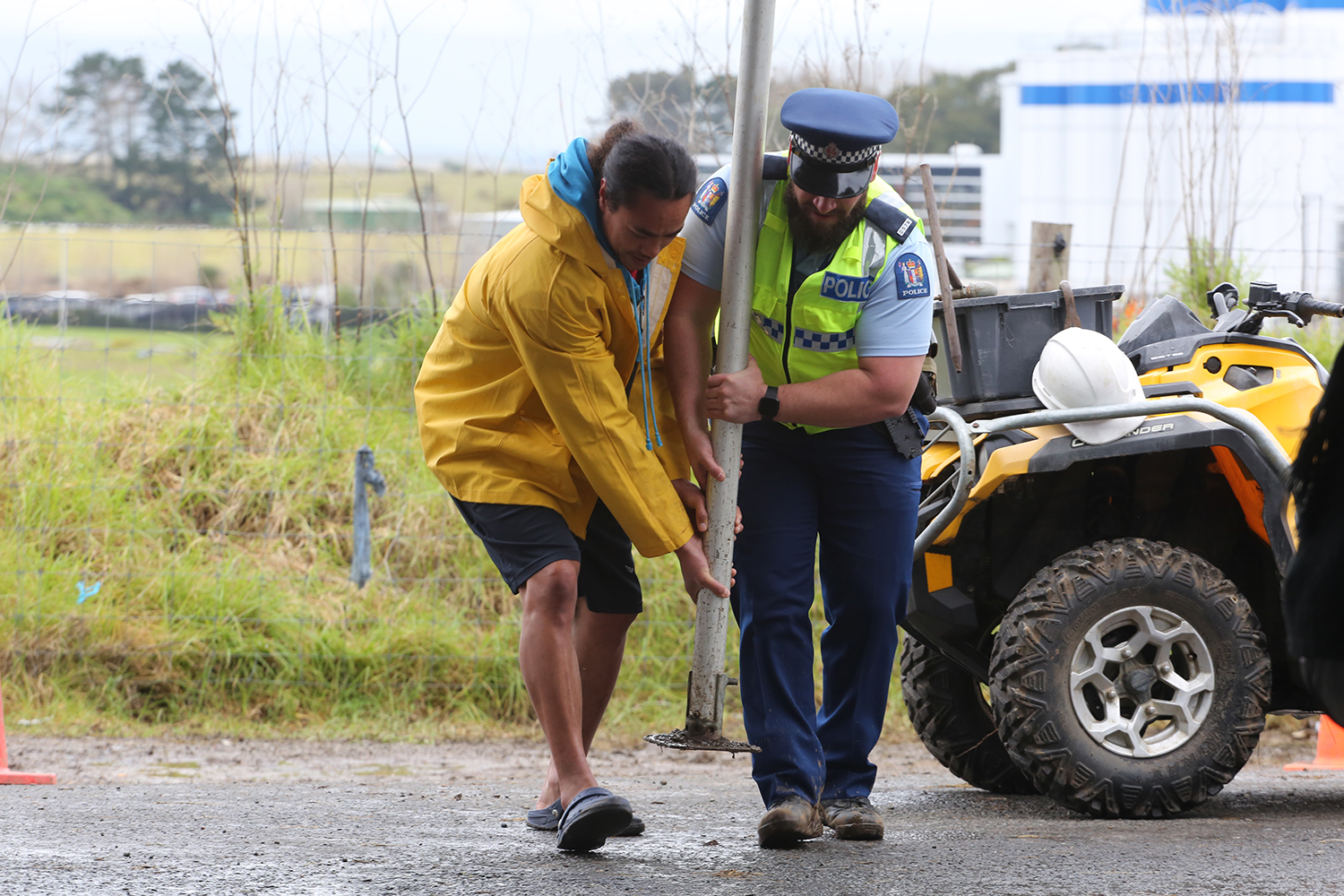 Maori Land Protest : Ihumatao : Auckland : New Zealand : Richard Moore : Journalist : Photographer :