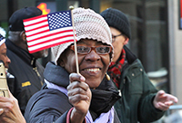 Veterans' Day : New York City : Parade : Richard Moore : Photographer