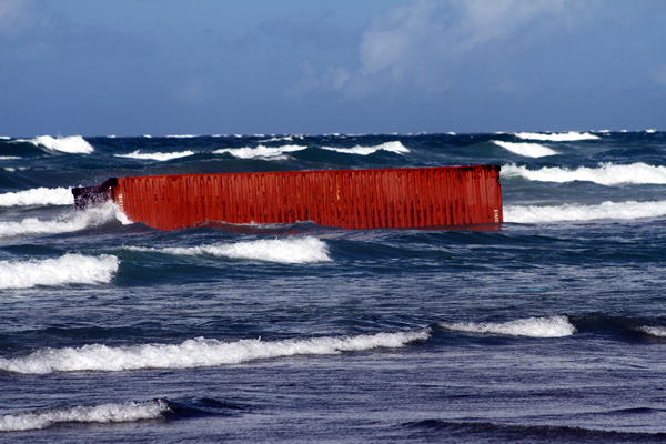 Wreckage, Rena Disaster, Oil Spill, Tauranga, New Zealand