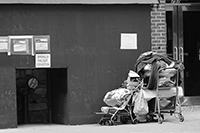 Streetlife, New York, Photo by Richard Moore