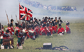 Battle of Waterloo : 200th Anniversary : Re-enactment :  Photos : Richard Moore : Photographer
