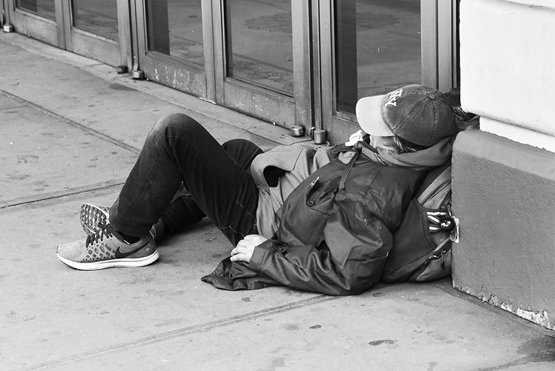 Homeless : Street Life : New York : Personal Photo Projects :  Richard Moore Photography : Photographer :
