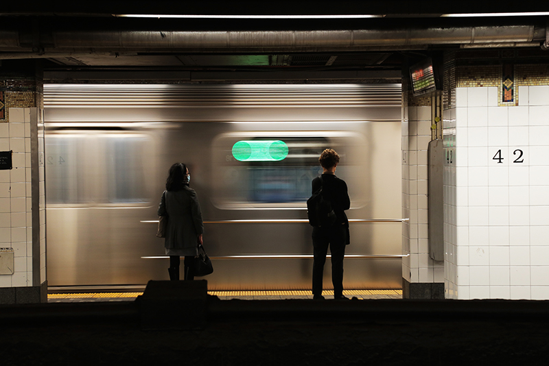 Subway : New York : Personal Photo Projects :  Richard Moore Photography : Photographer :